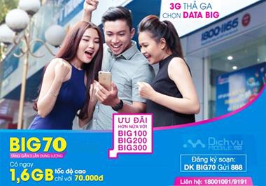 3G thả ga nhờ BIG DATA từ VinaPhone
