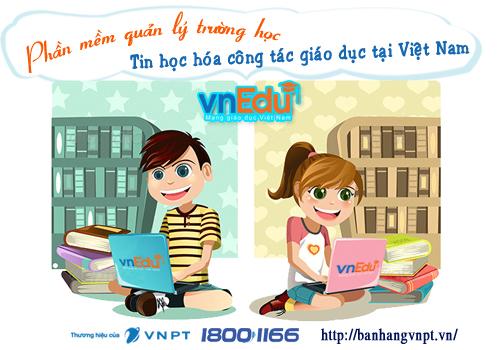 VnEdu - Hệ thống quản lý trường học tiện ích