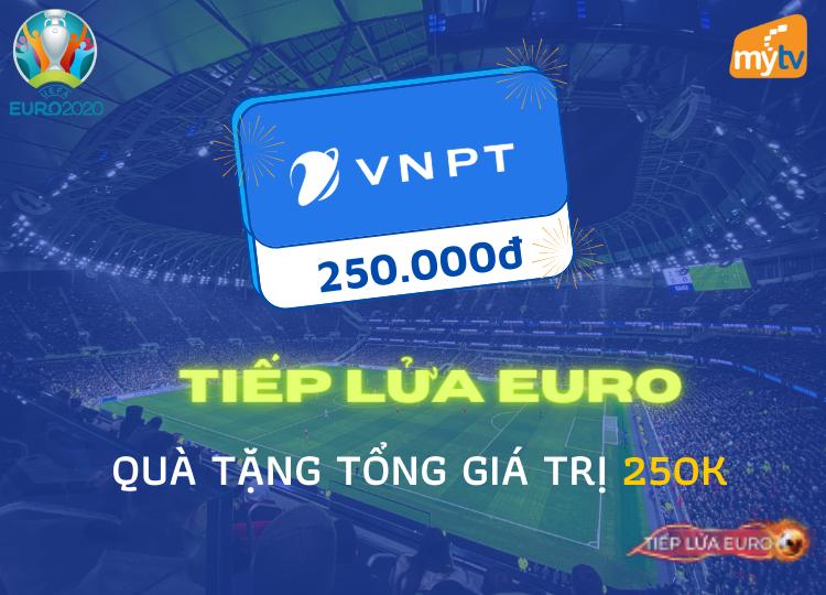 Tiếp lửa Euro - Nhiều quà tặng hấp dẫn đến từ VNPT VinaPhone Hà Nội