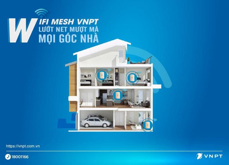 Cùng tìm hiểu Wifi Mesh trong gói Home safe của VNPT