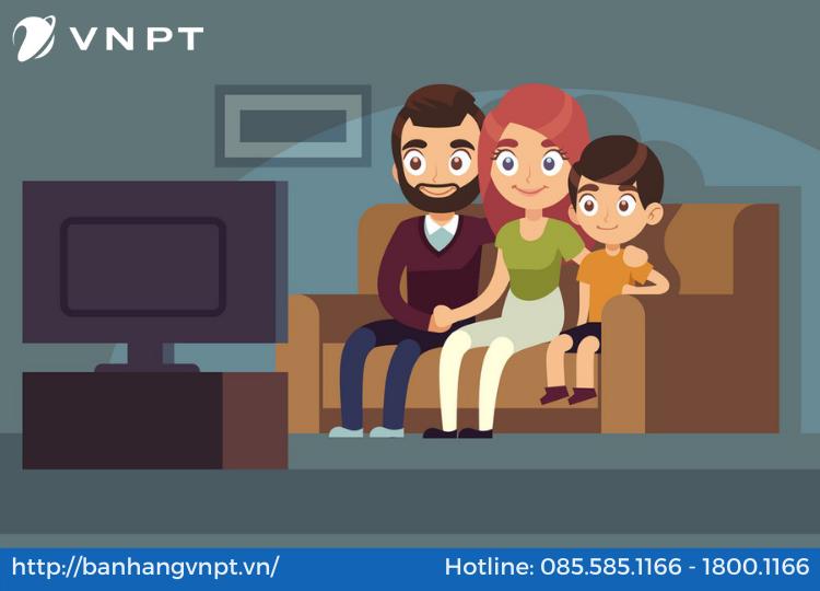 Lắp đặt internet VNPT cho gia đình
