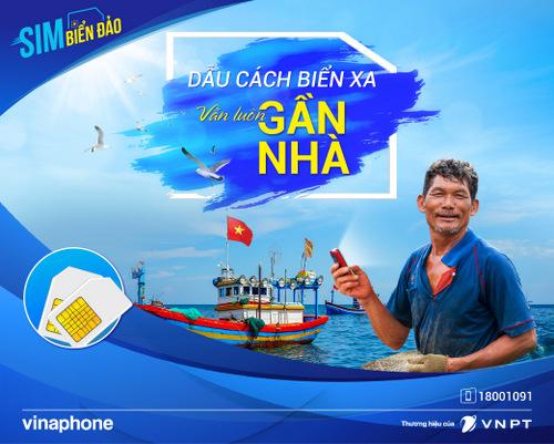 VinaPhone tăng thêm ưu đãi cho sim Biển Đảo
