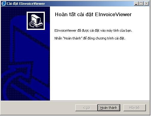 Hướng dẫn cài đặt invoiceviewer
