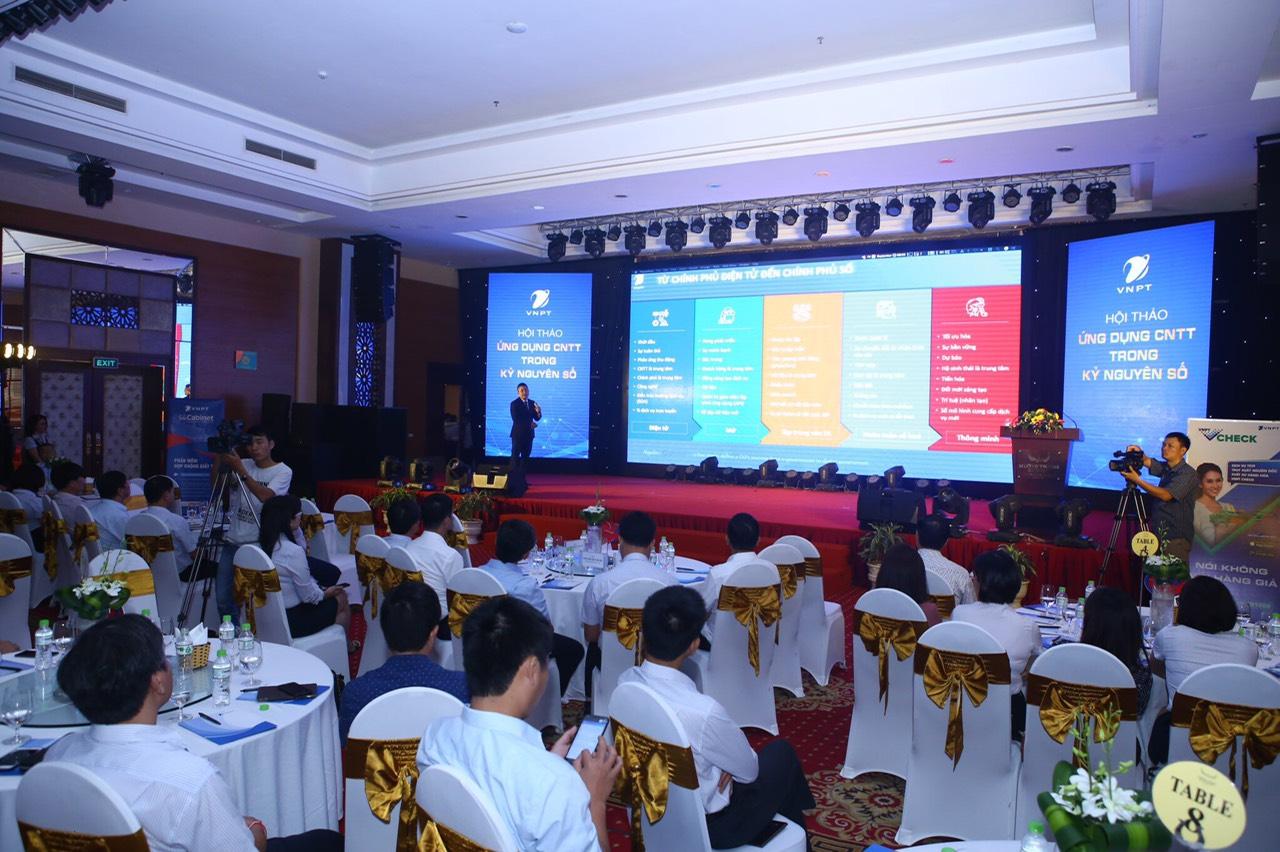 VNPT giới thiệu các giải pháp chuyển đổi số tới các cơ quan Bộ/Ngành