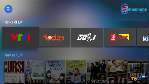 Hướng dẫn cài đặt ứng dụng MyTV Net VinaPhone trên điện thoại di động