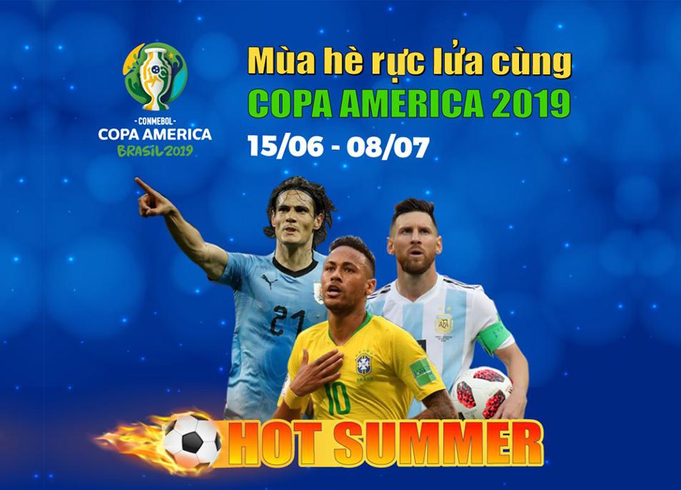 Truyền hình MyTV chính thức sở hữu bản quyền Giải Copa America 2019