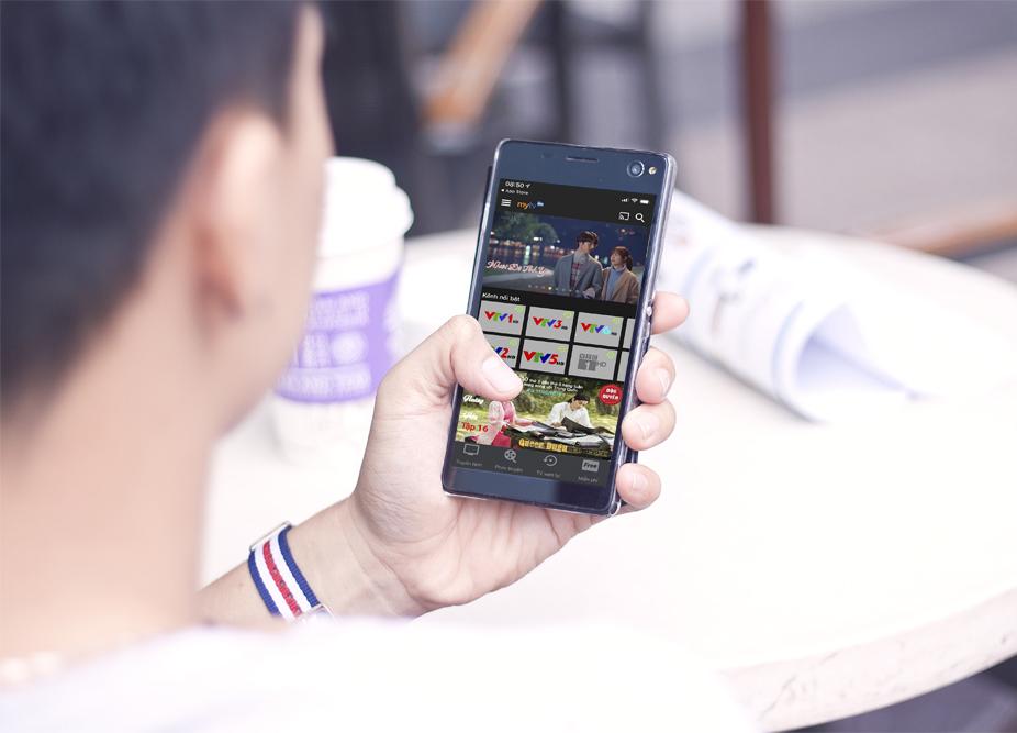 Đăng ký MyTV5 VinaPhone xem truyền hình thả ga không tốn DATA