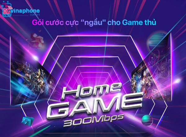 Gói Home Game VinaPhone ưu tiên tốc độ cao, khuyến mãi hấp dẫn