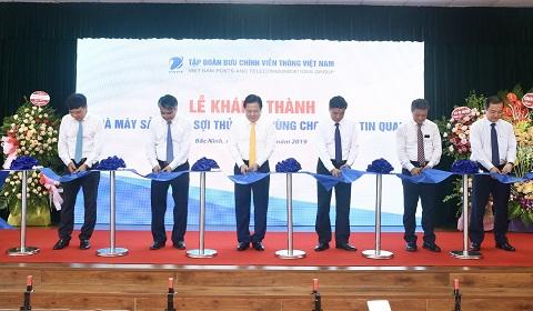 VNPT khánh thành Nhà máy sản xuất sợi quang đầu tiên khu vực Đông Nam Á