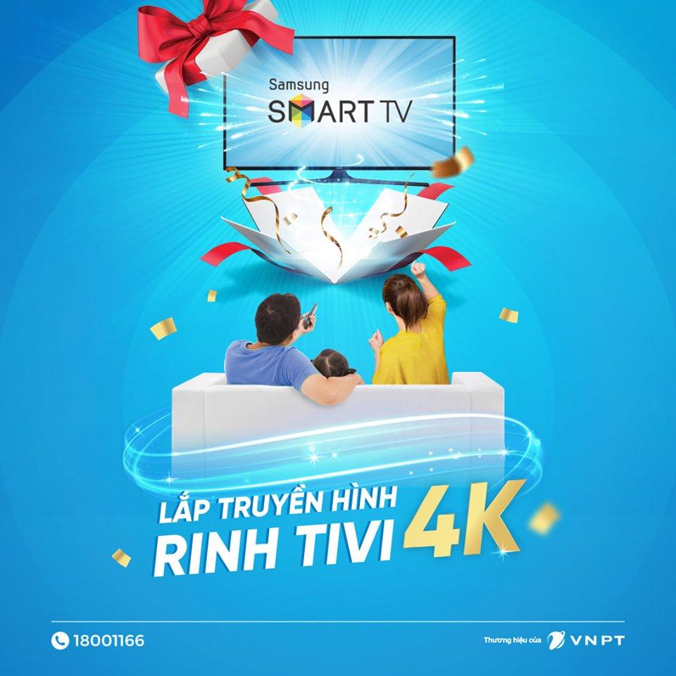 """Khuyến mại lắp mới truyền hình MyTV tại Hà Nội """"Lắp truyền hình – Rinh Tivi khủng"""""""