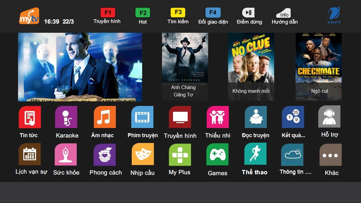 Nên lựa chọn gói Nâng cao hay gói VIP của truyền hình MyTV