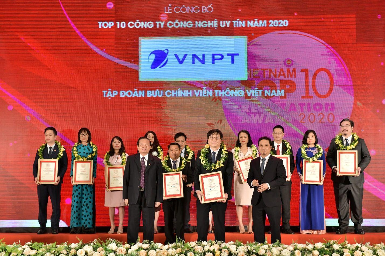 VNPT nằm trong top 10 công ty công nghệ uy tín năm 2020