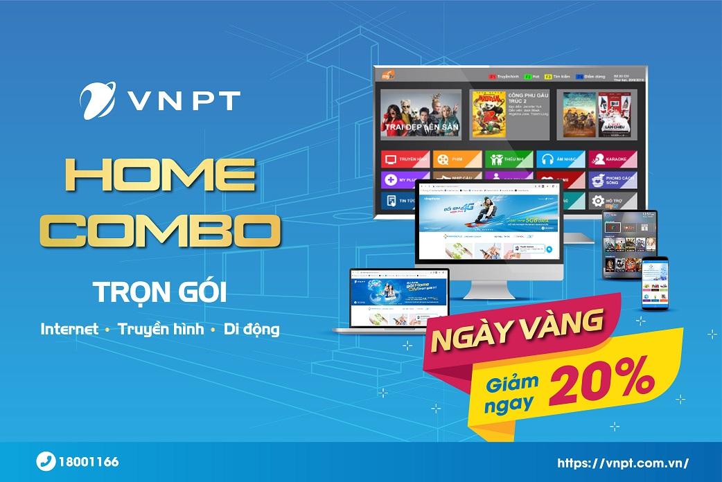 Ưu đãi mùa thu từ VNPT: Lắp đặt Internet – Truyền hình nhận ngay ưu đãi giảm giá 20%