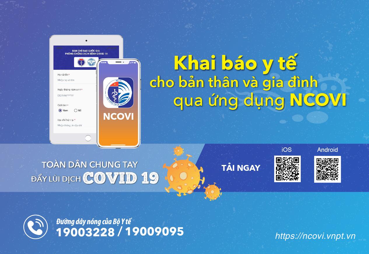 Toàn dân đồng lòng chống dịch: Khai báo y tế qua ứng dụng NCOVI