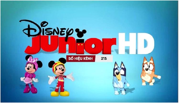 Truyền hình MyTV chính thức bổ sung kênh Disney Junior HD