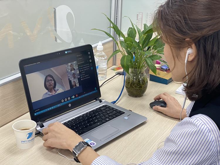 VNPT ưu đãi dịch vụ họp trực tuyến trong mùa dịch
