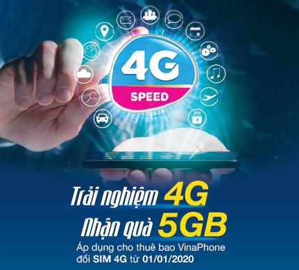 Chương trình khuyến mãi đổi Sim 4G VinaPhone năm 2020 tại Hà Nội