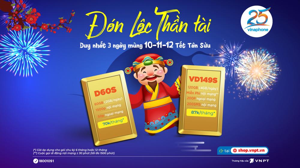 """""""Đón Lộc Thần Tài"""" cùng VNPT VinaPhone Hà Nội"""