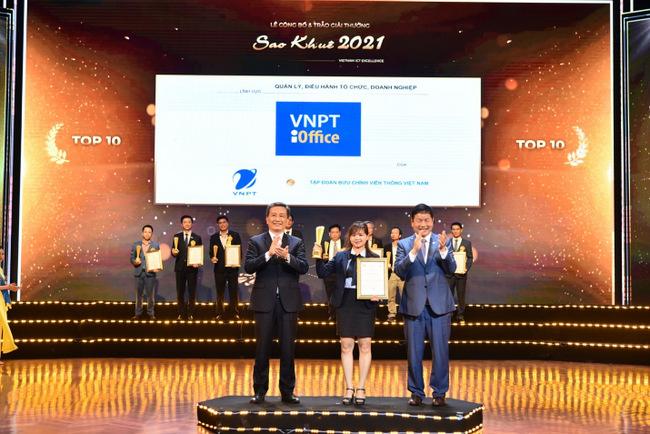 VNPT đoạt 16 giải thưởng Sao Khuê 2021