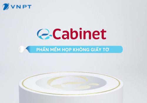 VNPT e-Cabinet  Phòng họp không giấy tờ