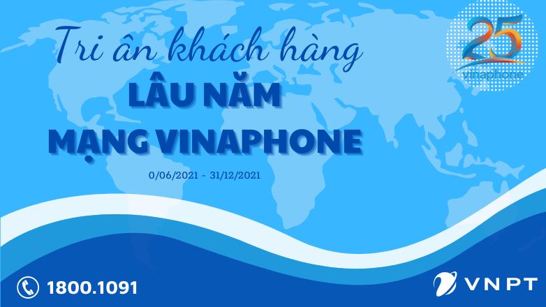 VinaPhone tri ân khách hàng gắn bó lâu năm nhân kỷ niệm sinh nhật 25 tuổi!