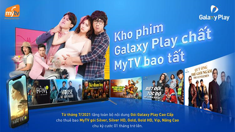 Truyền hình MyTV tung chính sách cực độc với gói Galaxy cao cấp