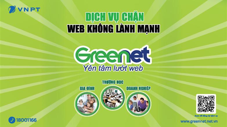 VNPT ra mắt dịch vụ chặn website xấu độc GreenNet