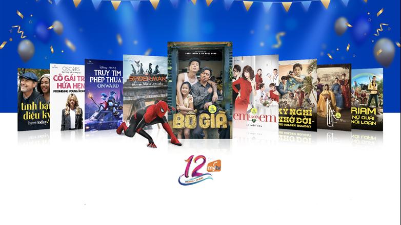 Mừng sinh nhật 12 năm - Truyền hình MyTV gửi tặng hàng ngàn phần quà tinh thần tri ân khách hàng