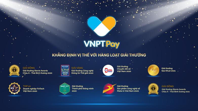 VNPT Pay ghi dấu ấn với những Giải thưởng danh giá